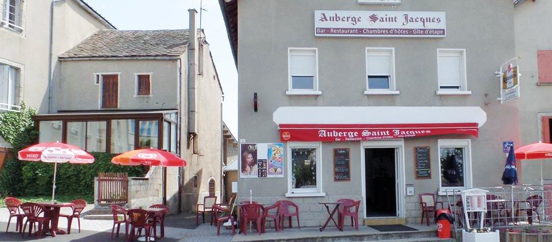Auberge Saint Jacques, gîte sur la voie du Puy vers Compostelle, image 1